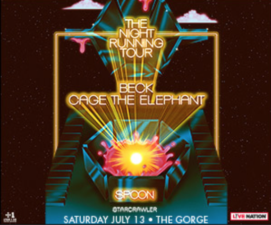 Beck Cage The Elephant Spoon Starcrawler At Gorge Amphitheatre In