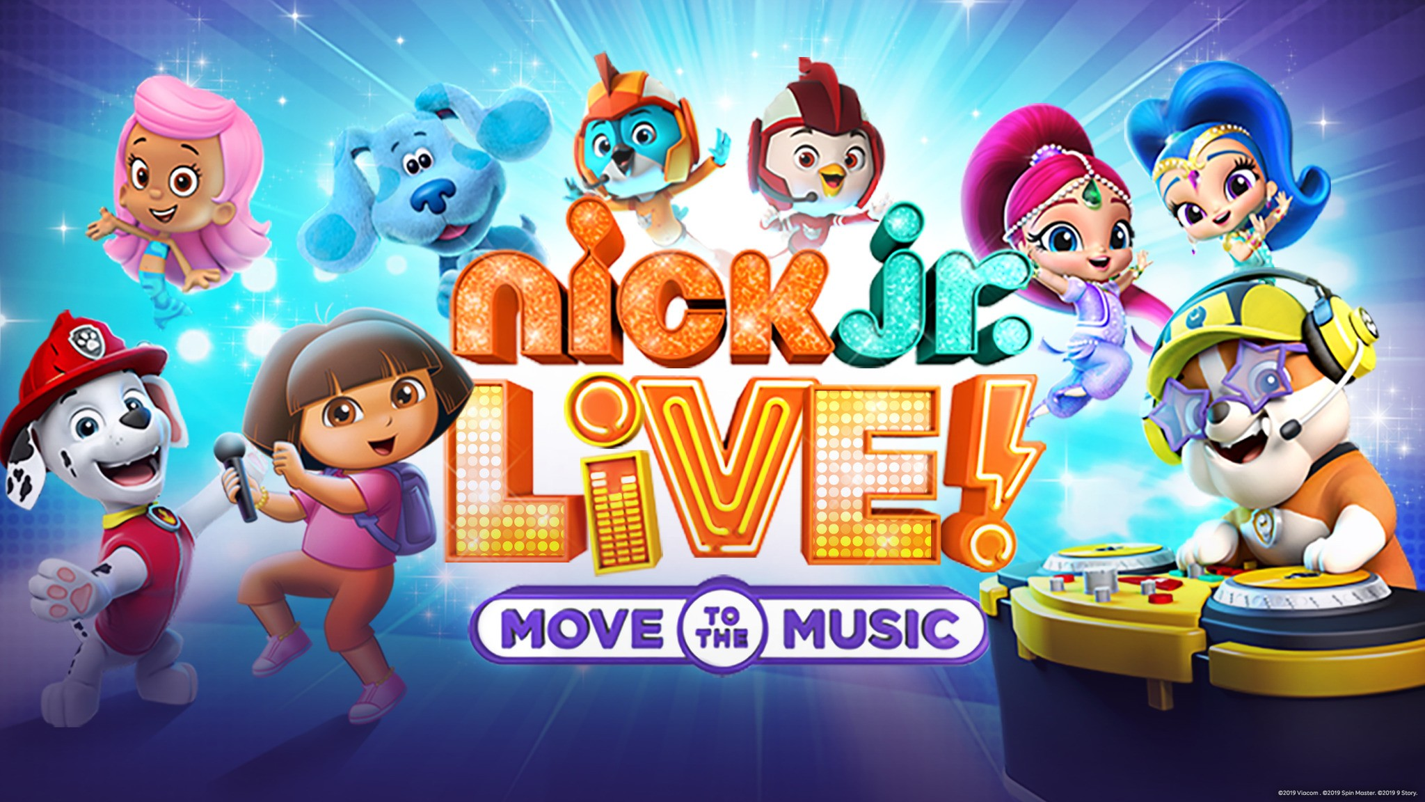 Nick Jr  Live! Move to the Music at McCaw Hall in Seattle, WA on Sun