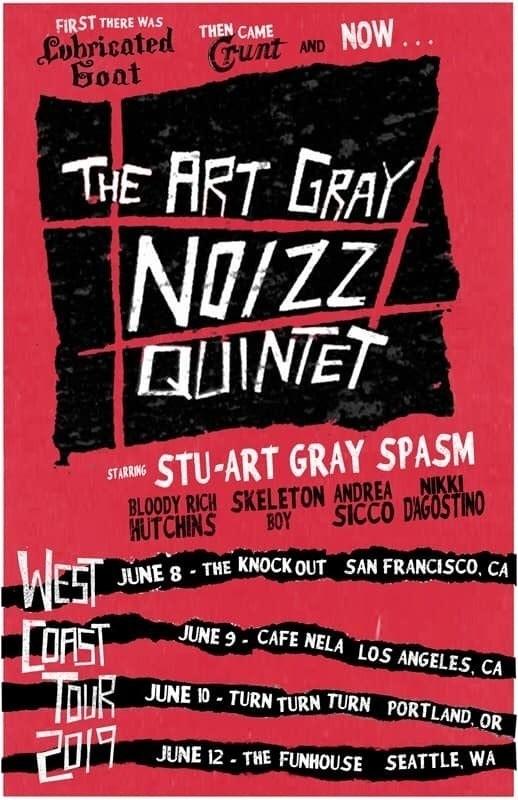 The Art Gray Noizz Quintet, the Tom Price Desert Classic