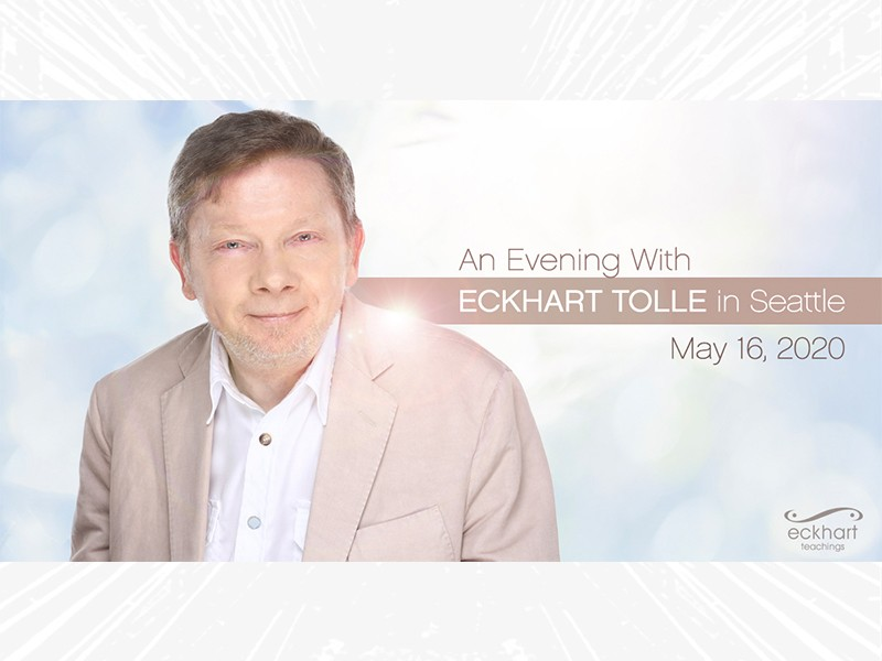 Seattle Calendar Of Events 2020 An Evening with Eckhart Tolle at Paramount Theatre in Seattle, WA