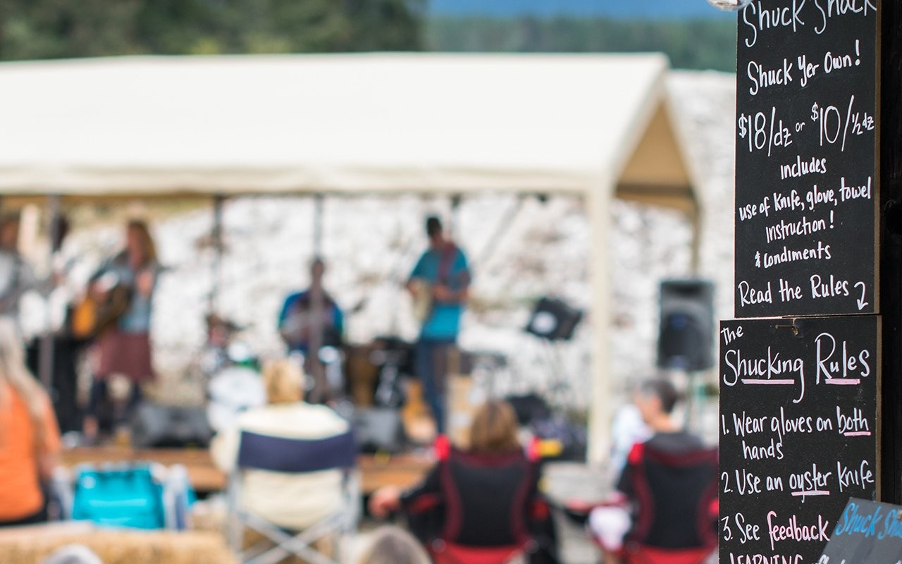 Hama Hama Summer Music Series 2019 at Hama Hama Company and