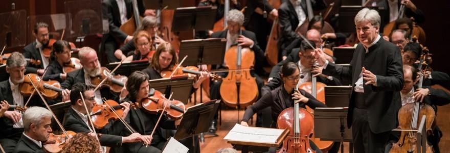Mahler's Symphony No  1 at Benaroya Hall in Seattle, WA on