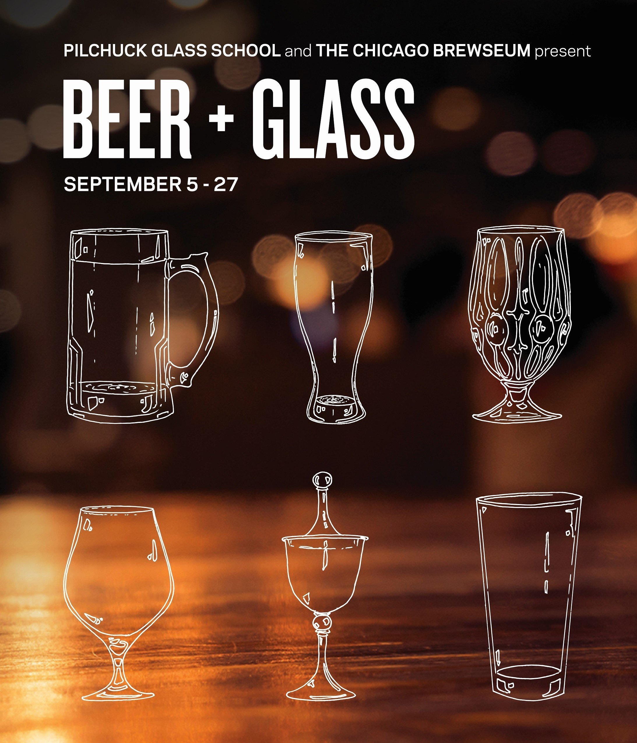 Beer + Glass at Pilchuck Glass School Campus in Stanwood, WA