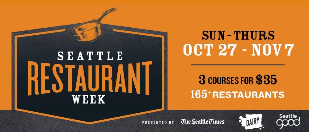 Seattle Restaurant Week Fall 2019 At Various Locations In