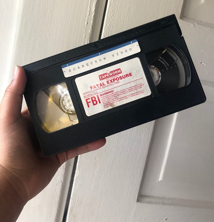 This is my first VHS Ive watched in this series! Applaud me, please.