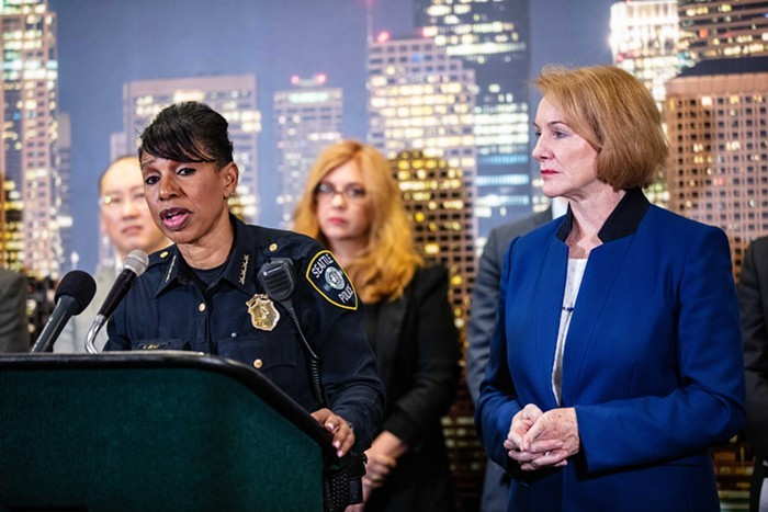 SPD Chief Carmen Best quickly deleted a tweet she made Tuesday night. Too bad its public record.