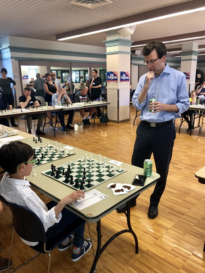 Washington Attorney General Bob Ferguson is a master chess player, like with actual chess, not with 3-D chess like Trump fans like to claim hes playing; can you imagine Trump playing chess????