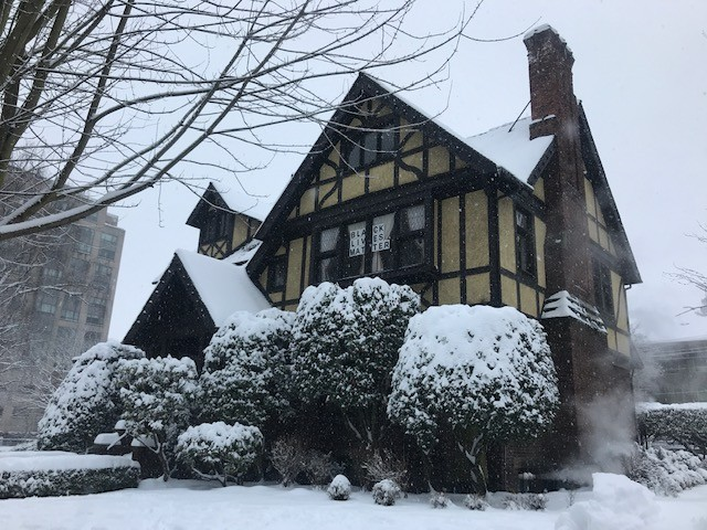 The Stimson-Green Mansion looks like a good witchs cabin.