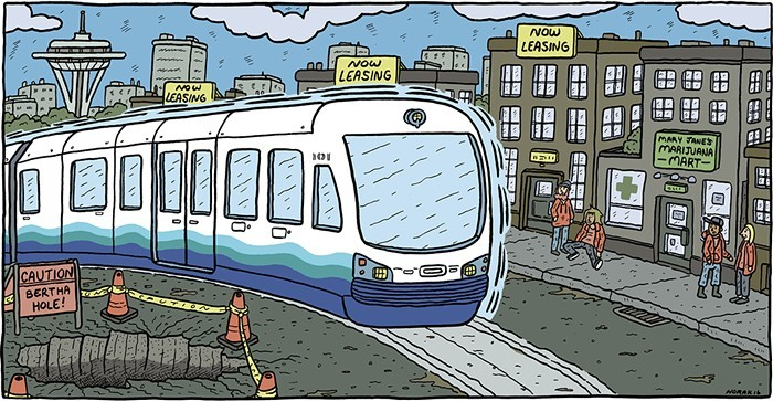 Cant wait to hop onto the light rail to go from the Capitol Hill Arts District to the Rainier Valley Creative District.