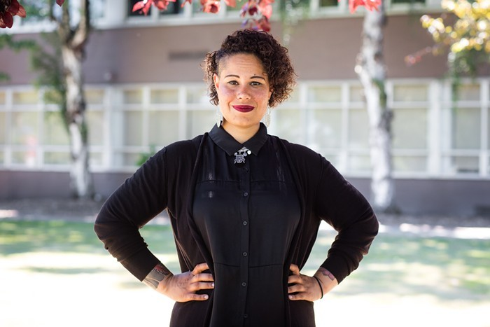 Activist, attorney, and poet Nikkita Oliver enters the race for Lorena Gonzalezs open council seat.