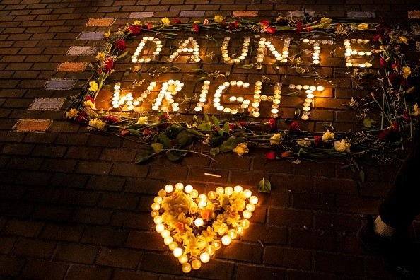 Seattle protesters held a candlelight vigil for Daunte Wright, who was killed by a police union president and 26-year veteran of the Brooklyn Center Police Department.