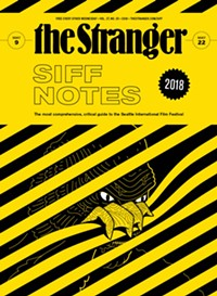Cover of this issue of The Stranger