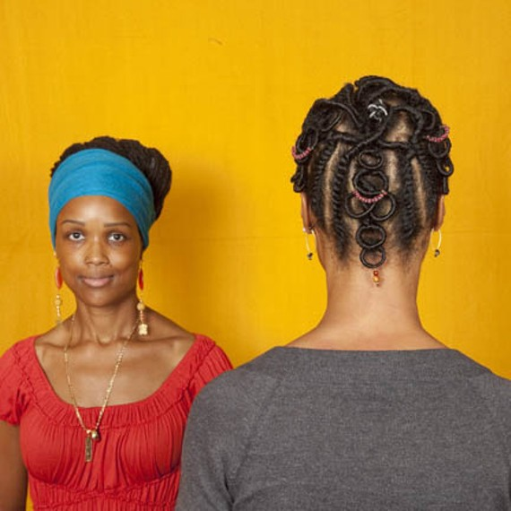 "1708 Gallery's ""Hair Craft Project,"" the brainchild of artist Sonya Clark, examines the aesthetics of braiding through a range of local hair stylists."