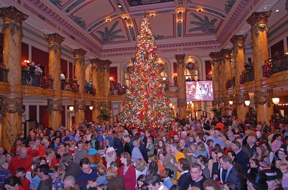 27th annual Tree Lighting at the Jefferson Hotel: Dec. 2. - SCOTT ELMQUIST/FILE