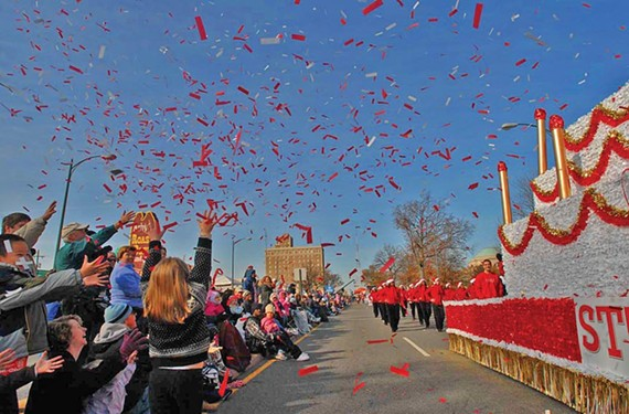 31st annual Dominion Christmas parade on Broad Street, Dec. 6. - SCOTT ELMQUIST