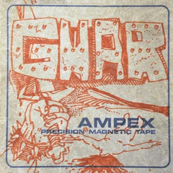 A picture of the original analog tape case from the first Gwar recording session in 1985.