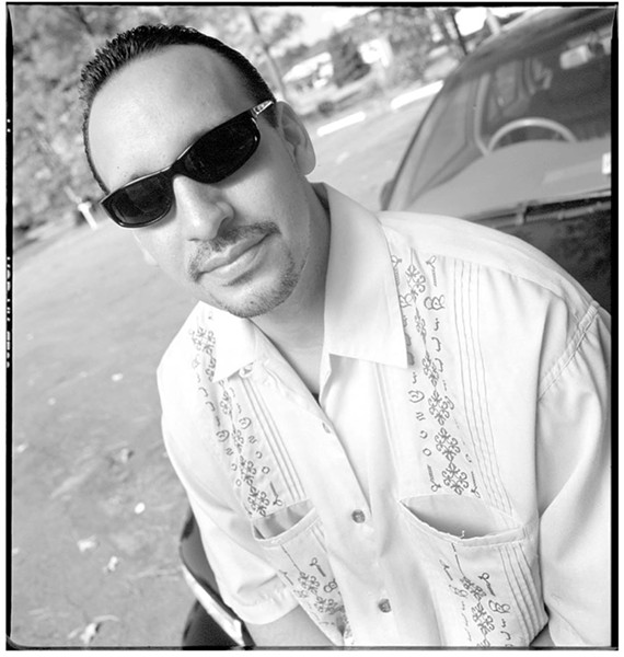 A portrait of Aguilar taken by a Style Weekly photographer in 2001, the same year the ROC opened in a small warehouse off Midlothian Turnpike. - STYLE WEEKLY FILE