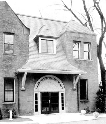 A stable behind the former Lewis Ginter house at 901 W. Franklin St. was converted for use as an art gallery soon after the property was purchased in 1930 by the Richmond division of the College of William and Mary, which became Richmond Professional Institute in 1939, the forerunner of VCU. The adaptation was designed by architect Charles M. Robinson. The gallery was enlarged a number of times to house the school's library. It was returned to gallery use in 1970. - SPECIAL COLLECTIONS AND ARCHIVES VCU LIBRARIES