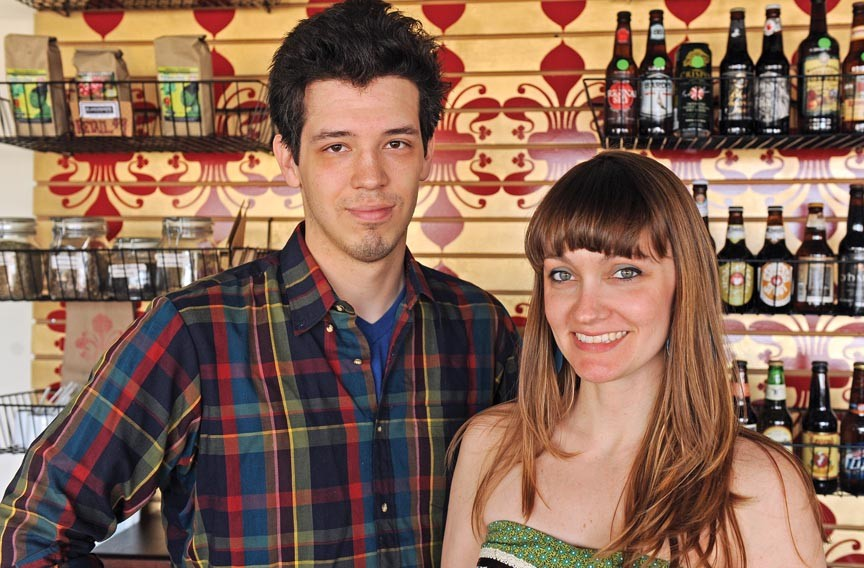 Aaron Hoskins and Melissa Barlow are introducing a spring menu that celebrates playfulness and the two-year mark at The Empress. - SCOTT ELMQUIST