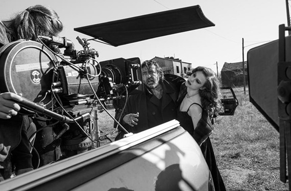 "Actor Angus Macfadyen, who wrote, directed and stars in a new version of ""Macbeth,"" shoots a scene with Taylor Roberts, who plays Lady Macbeth. Macfadyen, who's producing the film in partnership with VCU, plans to debut it on the festival circuit this year."