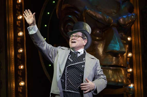 "Actor Tim Kazurinksy, who you may recognize him from ""Saturday Night Live"" in the '80s, or the ""Police Academy"" movies, was thrilled to see his stage career return with a role as the Wizard in ""Wicked."""