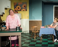 """Actors Catherine Shaffner as Thelma, at left, and Kimberly Jones Clark as Jessie deliver powerful performances in a heavy work by Marsha Norman that plays like the polar opposite of """"Steel Magnolias."""""""