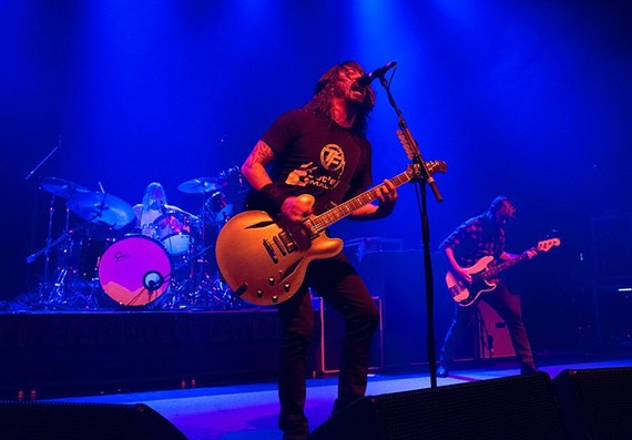 "AEG Live representatives were present at the recent Foo Fighters show at the National. ""The Foo Fighters told their agent we were the best venue they've ever played,"" says manager Bill Reid. ""I'll take that."" AEG Live recently purchased The National and its sister venue, the NorVa in Norfolk."