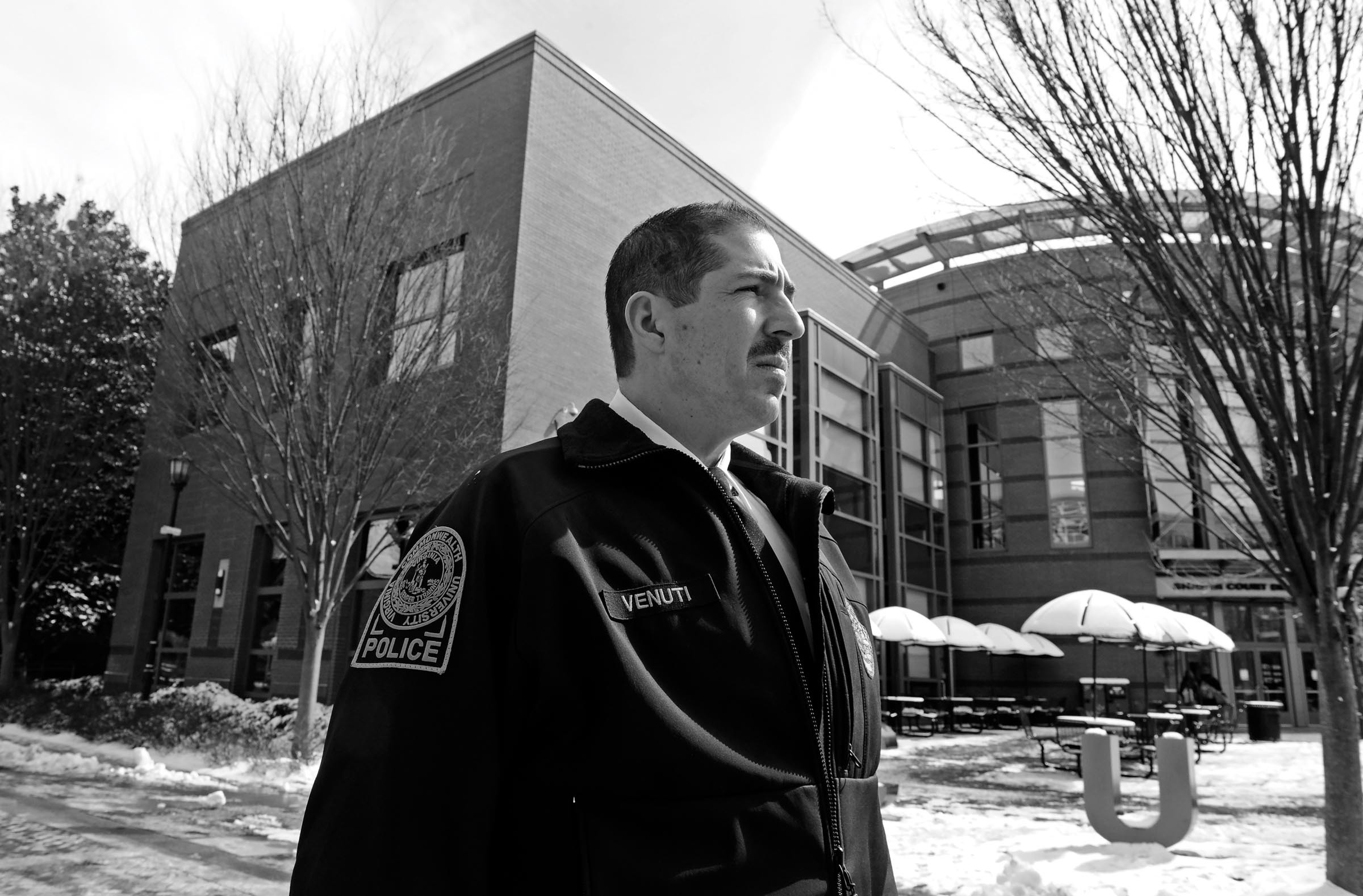 After a long career with the Richmond Police Department, Venuti became the first hire of VCU President Michael Rao in 2009. - SCOTT ELMQUIST