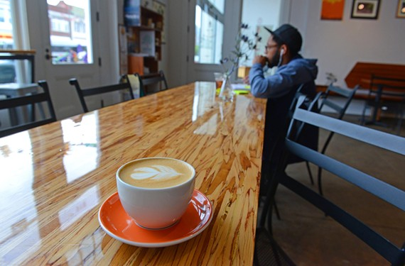 Alchemy Coffee is serious about its coffee — and the result is a perfect latte.