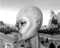 Alien in the Art World