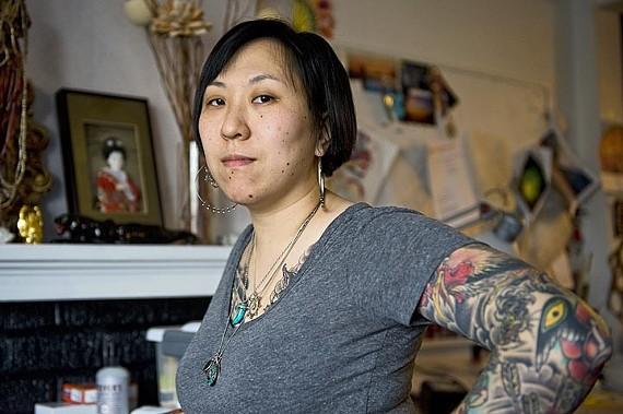 Amy Black of Trademark Tattoo - ASH DANIEL