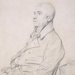"""An 1816 sketch of the Rev. Joseph Church by Jean Auguste Dominique Ingres is one of the brilliant works on display in a new Virginia Museum of Fine Arts exhibit, """"Corot to Cezanne: French Drawings from the Collection of Mr. and Mrs. Paul Mellon."""""""