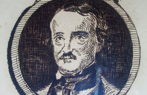 An etching of Poe by the French painter Edouard Manet (ca.1875). - EDGAR ALLAN POE MUSEUM