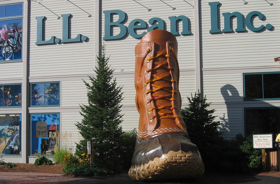 An L.L. Bean retails store in Freeport, Maine. (Creative Commons Licensed Photo: http://bit.ly/1mMddos) - USER AUDE, WIKIPEDIA