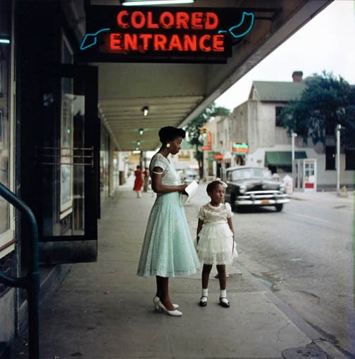 "An untitled work from 1956 by celebrated photographer Gordon Parks is on display at the VMFA as part of a multi-venue exhibit over several months titled ""Race, Place and Identity."""