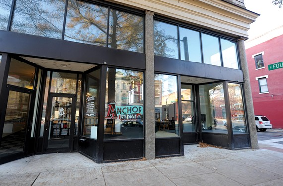 Anchor Studios on East Broad Street draws strength from its artistic diversity.