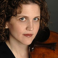 """""""You can't really replace someone like Karen,"""" Richmond Symphony music director and conductor Steven Smith says about Karen Johnson, who has served as the orchestra's concert master since January 2002. The virtuoso violinist will leave the symphony at year's end to join the President's Own, a Marine Corps band. Photo courtesy the Richmond Symphony"""
