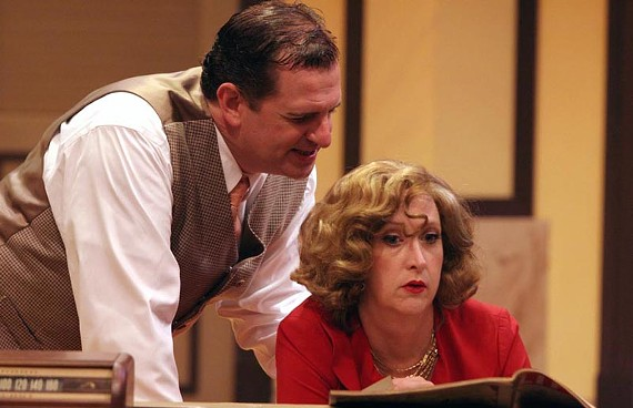 """""""Mahler? I hardly knew 'er!"""" Joe Pabst and Susan Sanford give Italian opera the business in the hilarious """"Lend Me a Tenor."""" - JAY PAUL"""