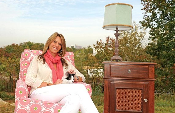 Andrea Edmunds, owner and chief executive of PoshTots, the luxury children's furniture retailer, will star in an upcoming reality TV show in December. - SCOTT ELMQUIST