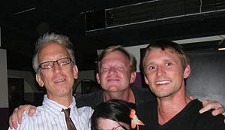 Andy Dick Hits Up Hat Factory, Mansion