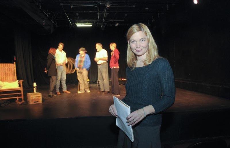Anna Senechal Johnson of Cadence Theatre Company. - SCOTT ELMQUIST