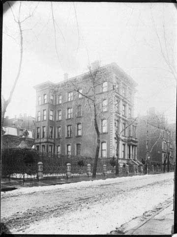 Arabella extensively renovated her home at 4 W. 54th St. in New York. It was later purchased by John D. Rockefeller. - BROOKLYN MUSEUM