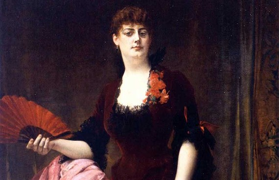 Arabella Worsham (shown here in a painting by Alexandre Cabanel) married Collis P. Huntington (below) after a 14-year affair with the railroad tycoon. - FINE ARTS MUSEUMS OF SAN FRANCISCO