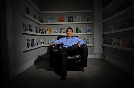 Arnold Kim at 804RVA, a shared-office space on West Broad Street. - SCOTT ELMQUIST