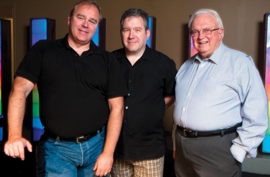 Artistic Director John Knapp,  Managing Director Phil Crosby, and businessman Michael Gooding helped build the Richmond Triangle Players from a small nightclub troupe to a well-regarded theater company. - SCOTT ELMQUIST