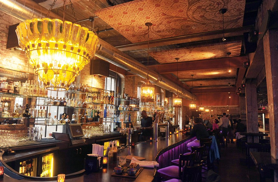 At Casa Del Barco, an old factory becomes the newest venue for upscale Mexican cuisine and tequila as part of the Boathouse group owned by Kevin Healy. Interior walls show layers of century-old paint, the lighting is glamorous, and the patina of old wood makes the updates particularly effective. Designer Helen Reed helped mastermind the décor. - SCOTT ELMQUIST