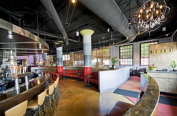 At Haiku, co-owner Hai Truong drew up an industrial-minimalist interior and a wide menu of Asian dining and drinking options for the former Sensi space on Tobacco Row. - ASH DANIEL