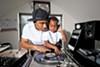 "At home, DJ Danja Mowf and his son Jordan do a little father-and-son beat matching. ""I was told to find something I love to do and get paid for it."""