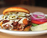 At Portrait House in Carytown, the American gothic burger is a worthy option among a sea of competitors.