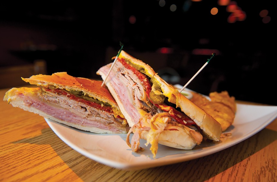 At the recently expanded Kenn-Tico Cuban Bar & Grill downtown, the Cuban sandwich is the area's most authentic version. - SCOTT ELMQUIST